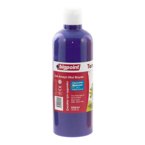 Bigpoint Tempera Paint 500 ml Mor