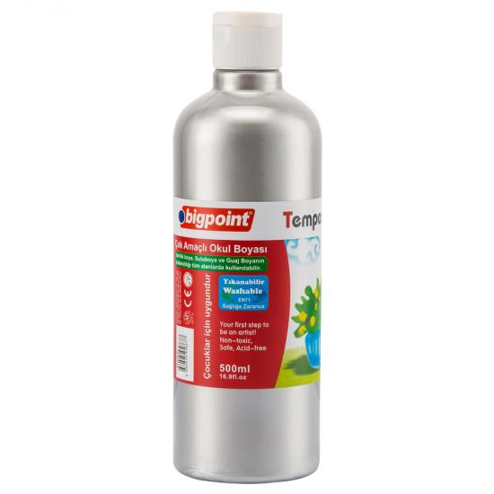 Bigpoint Tempera Paint 500 ml Silver