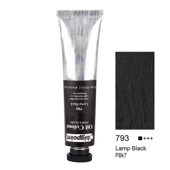 Bigpoint Yağlı Boya 200 ml Lamp Black 793